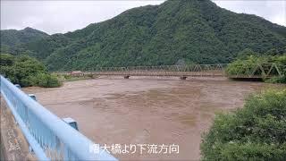 【2018年7月豪雨】江の川流域で浸水被害発生!島根県美郷町~川本町