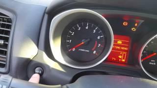 Меню налаштувань Міцубісі РВР або Як змінити режим СР. витрата палива на ручний