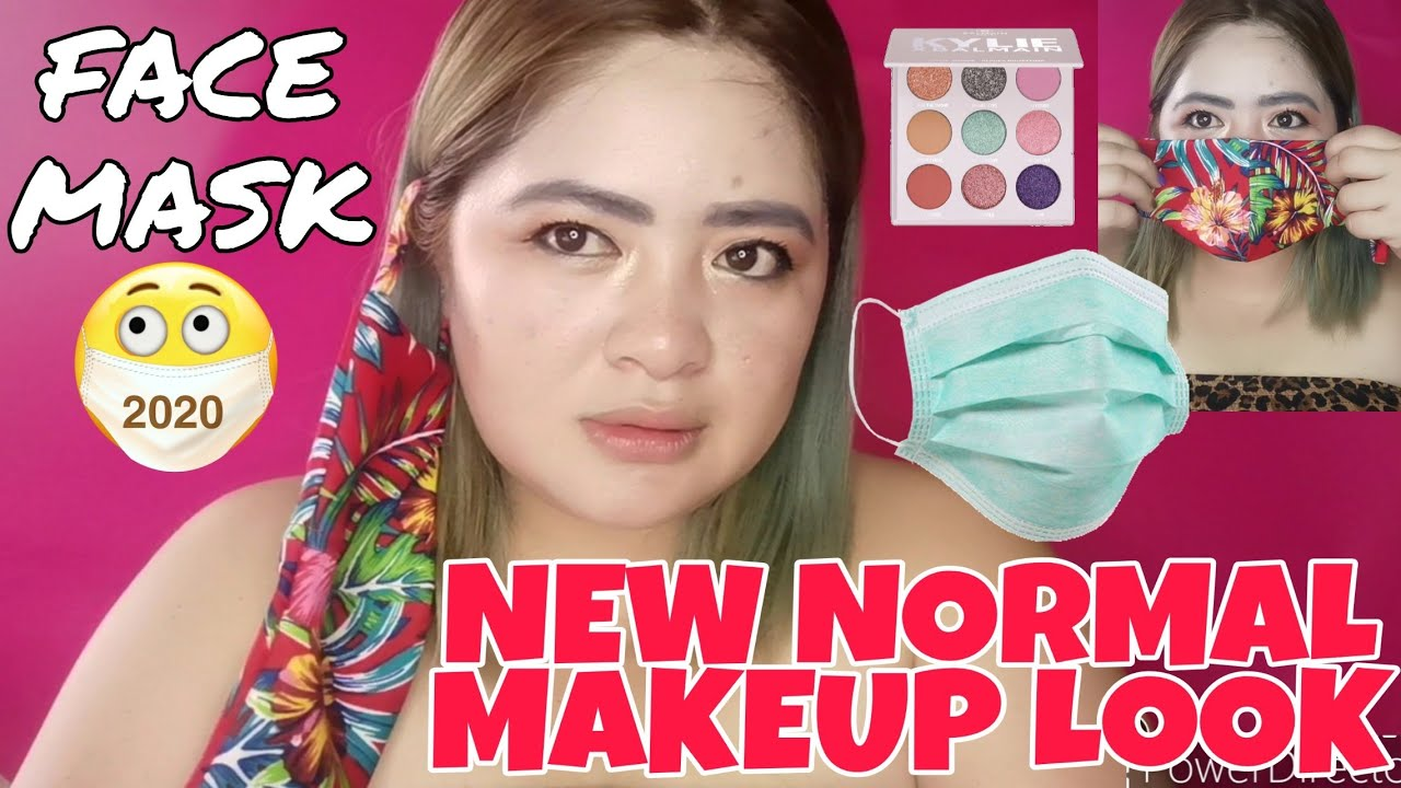 New Normal Makeup Look (Face Mask Friendly)