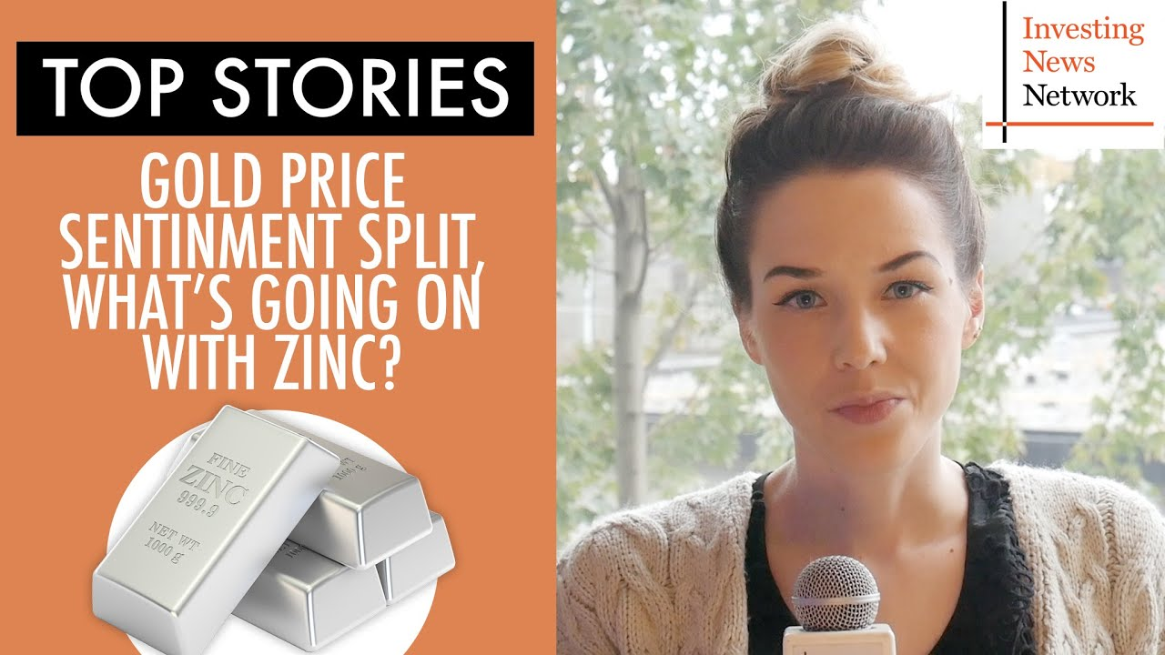 Top Stories This Week: Gold Price Sentiment Split, What's Going on with Zinc?