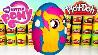 MY LITTLE PONY SCOOTALOO Play Doh Surprise Egg! Series 3 MLP Funko Mystery Minis!