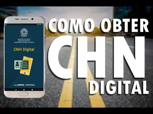Resultado de imagem para CNH DIGITAL 2020