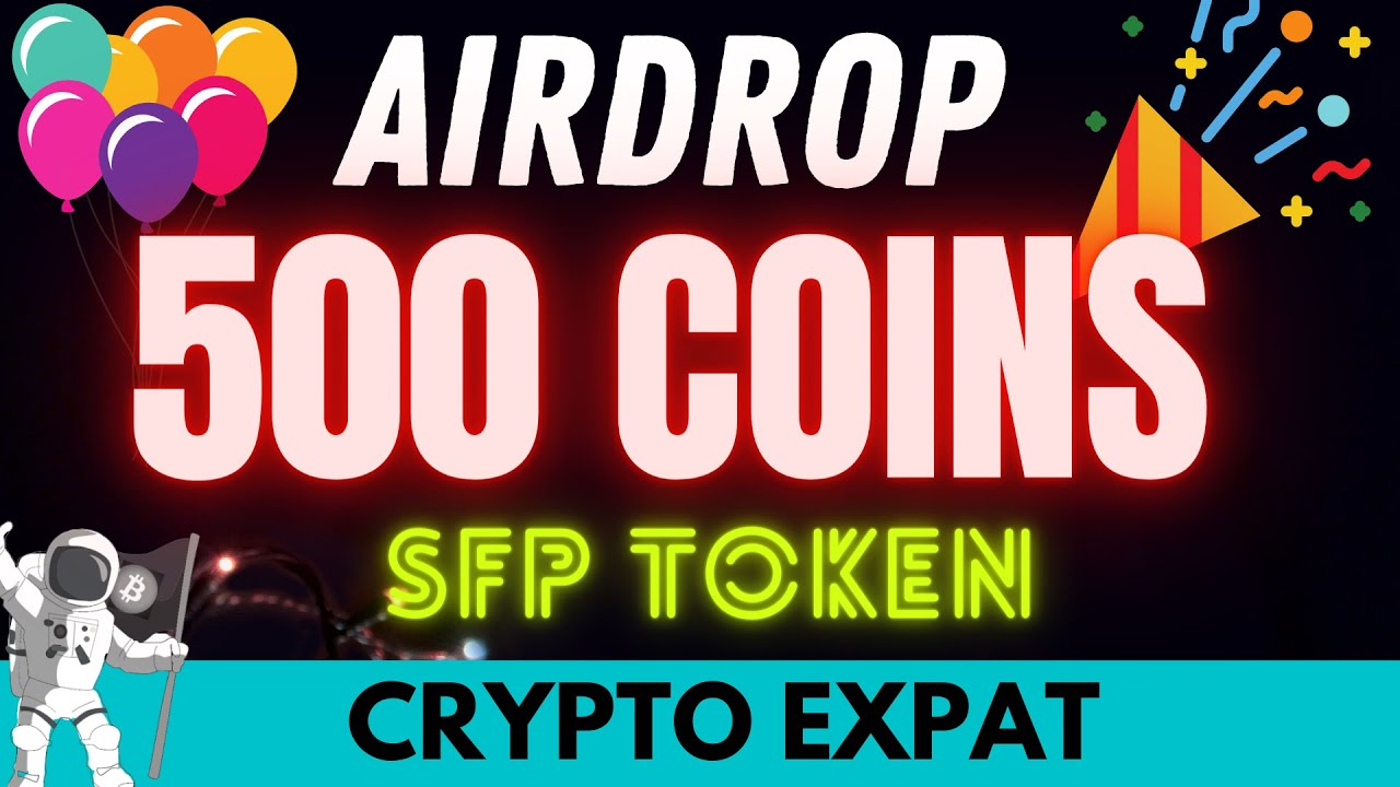 //SORRY AIRDROP IS DONE// AIRDROP 500 Free SFP Tokens (Not Shitcoins) Backed by Binance