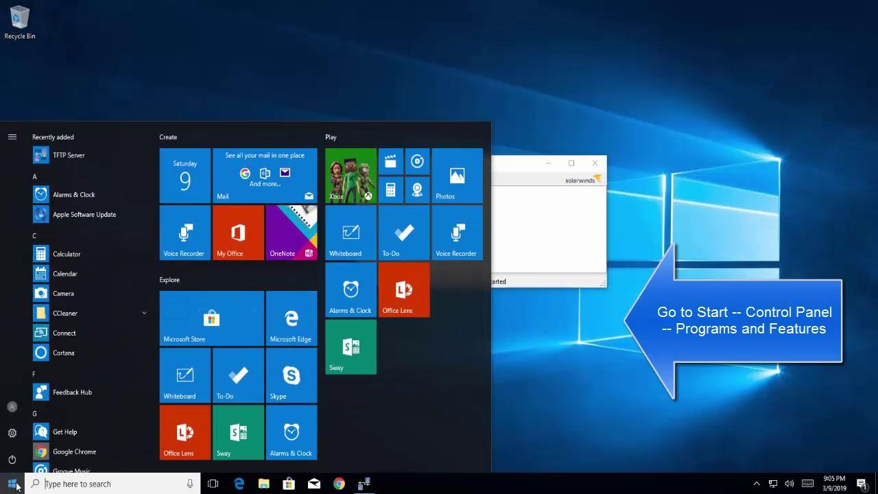 How to Setup and Configure TFTP Server on Windows 10
