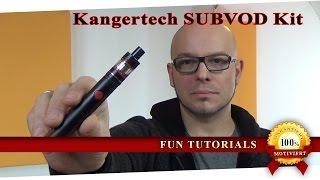 Kangertech SUBVOD Kit - E-Zigarette auch für Einsteiger (deutsch|review|test)