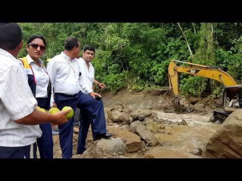 Turismo GADM Chone evalúa daños ocasionados por lluvias