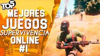 TOP 5 | MEJORES JUEGOS DE SUPERVIVENCIA Y MUNDO ABIERTO ONLINE PARA PC | (#1)