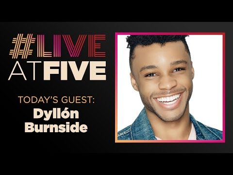 Broadway.com #LiveatFive with Dyllón Burnside of POSE