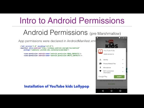 Android Permissions - Part 1, Intro to Runtime permissions