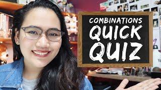 Quick Quiz: Combination - Civil Service and UPCAT Review