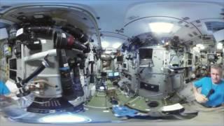 'Space 360': El primer video panorámico desde el espacio en la historia ?