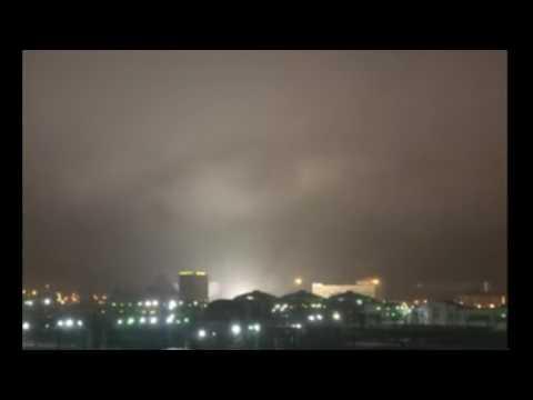 WHOA! HUGE EYE HOVERING OVER CHELYABINSK, RUSSIA SPOOKS RESIDENTS
