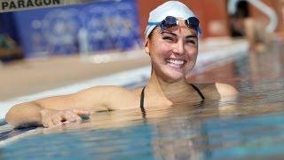 Je suis mormone, médaillée olympique et nageuse à la retraite à 24 ans