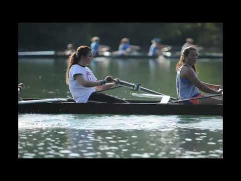 Rowing practice on Melton Hill Lake