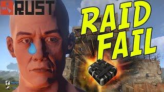 ULTIMATE SOLO RAID FAIL | Rust