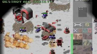 PSX Longplay [036] Command & Conquer: Red Alert (Allied Part 1 of 3)