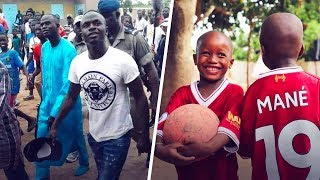What Sadio Man did in his childhood village deserves your respect - Oh My Goal
