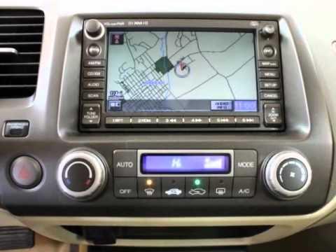 2007 Honda Civic Hybrid 4 Door Sedan W Navigation Youtube