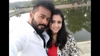 Vj manimegalai LATEST dubsmash with her husband Hussain