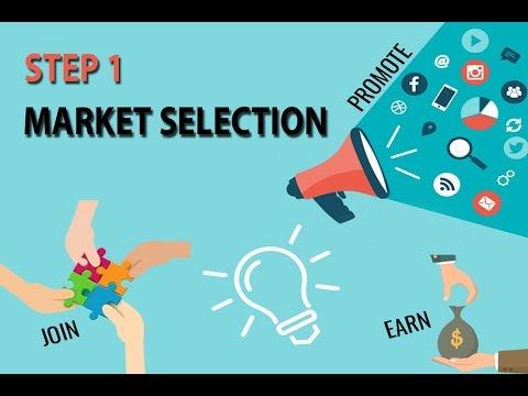 Affiliate Marketing Step By Step - Market Selection