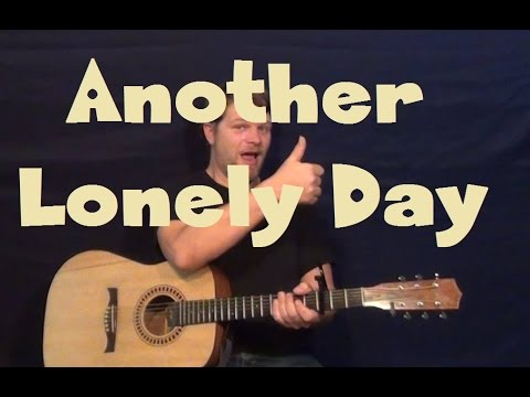 Another Lonely Day (Ben Harper/Adam Gontier) Easy Strum Guitar Lesson How to Play Tutorial