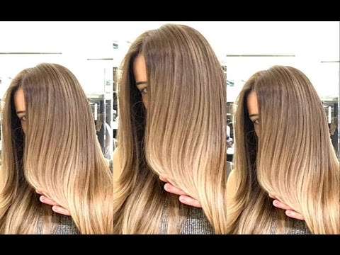 Hair Color Transformation by Mounir | Style Transformations - YouTube