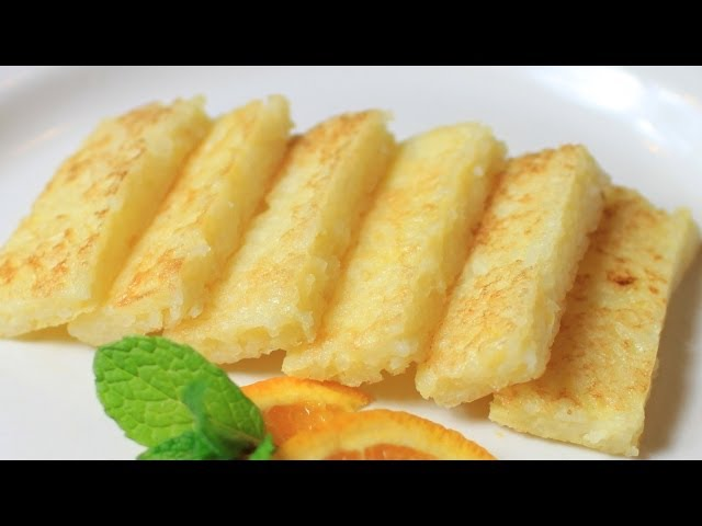 Fried Rice with Egg Pancake Recipe
