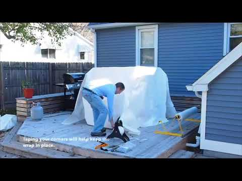 how to shrink wrap patio furniture dr shrink inc