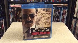 The Infiltrator BLU RAY UNBOXING and Review - Bryan Cranston