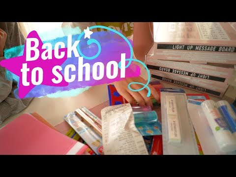 Back to school Haul / Mama Alltag mit drei Kindern / 1.9.17 / MAGIXTHING