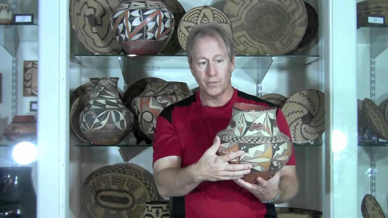 Historic Acoma Pueblo Pottery Identification