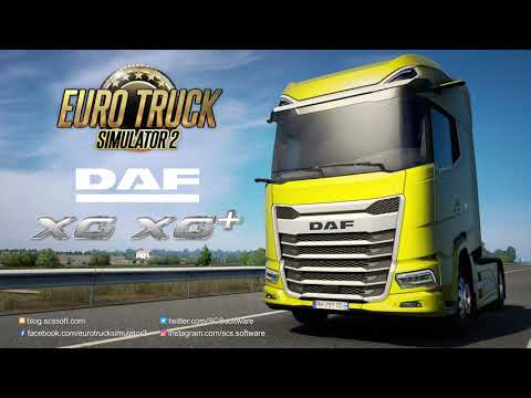 Euro Truck Simulator 2   New Generation DAF XG U0026 XG+