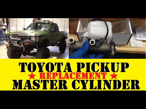 Toyota 4Runner/Pickup Clutch Master and Slave Cylinder Replacement