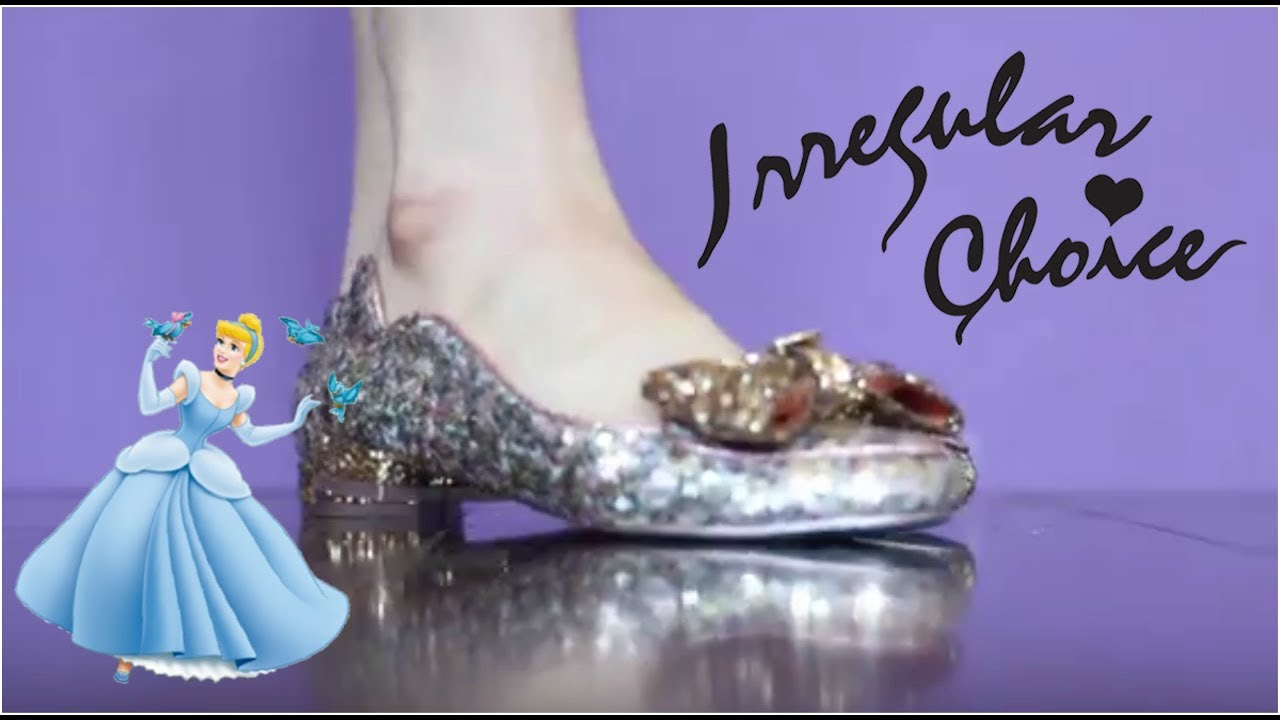 f35f8ef28f4 Irregular Choice : Cinderella, It Fits Unboxing & Review ...