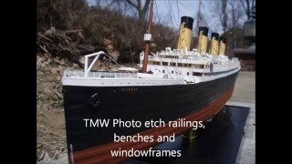 My Minicraft 1/350 RMS Titanic