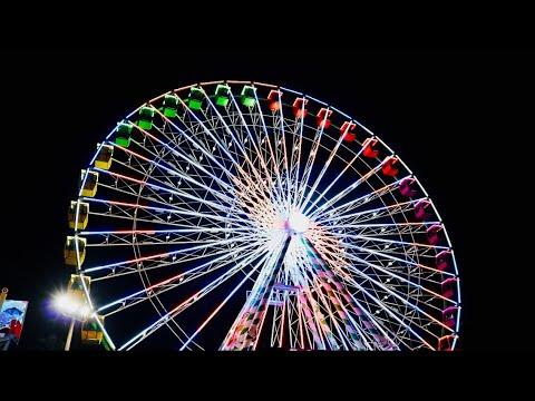 Florida State Fair 2019! Opening Weekend | My Night Of Fun, Tampa Sky Eye & Jumbo Bacon