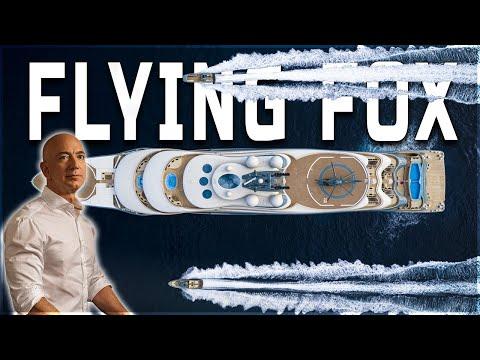 Inside Jeff Bezos $400 Million Flying Fox Yacht | By Lurssen Yachts