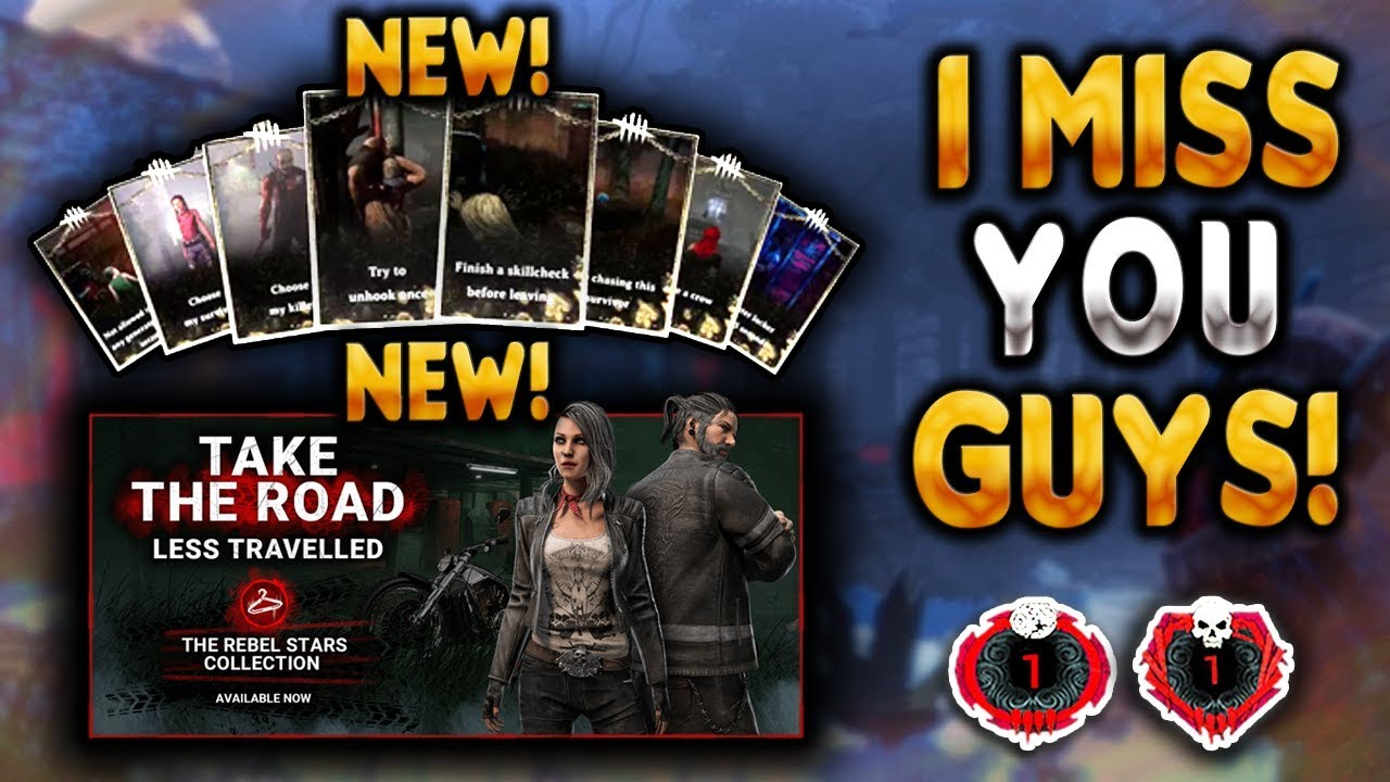 LIVE 🔴Dead by Daylight Mobile - I MISSED YOU GUYS! NEW COSMETICS TODAY! NEW !streamloots CARDS!