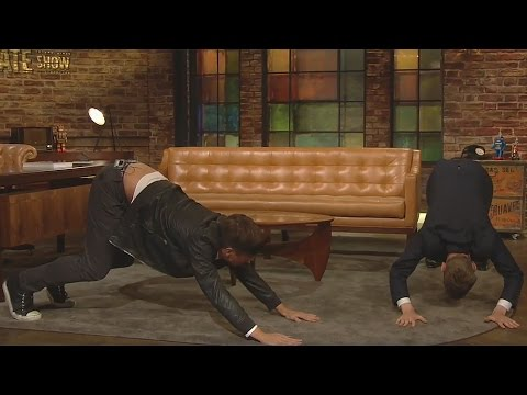Donal Skehan teaching Ryan Tubridy some yoga! | The Late Late Show | RTÉ One