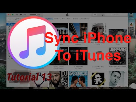 Sync Your Iphone In Itunes