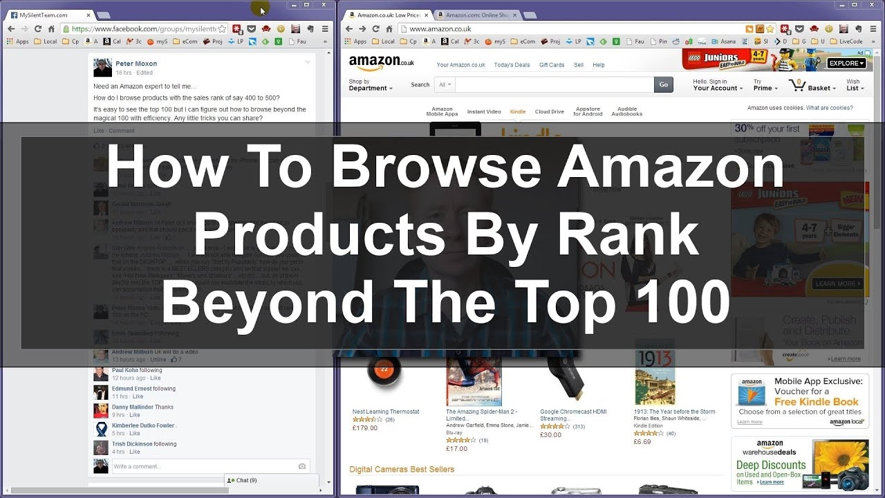Browse Amazon Products By Rank Beyond The Top 100 - FBA Tips