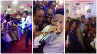 Snaps from Prom Night with Reekado Banks