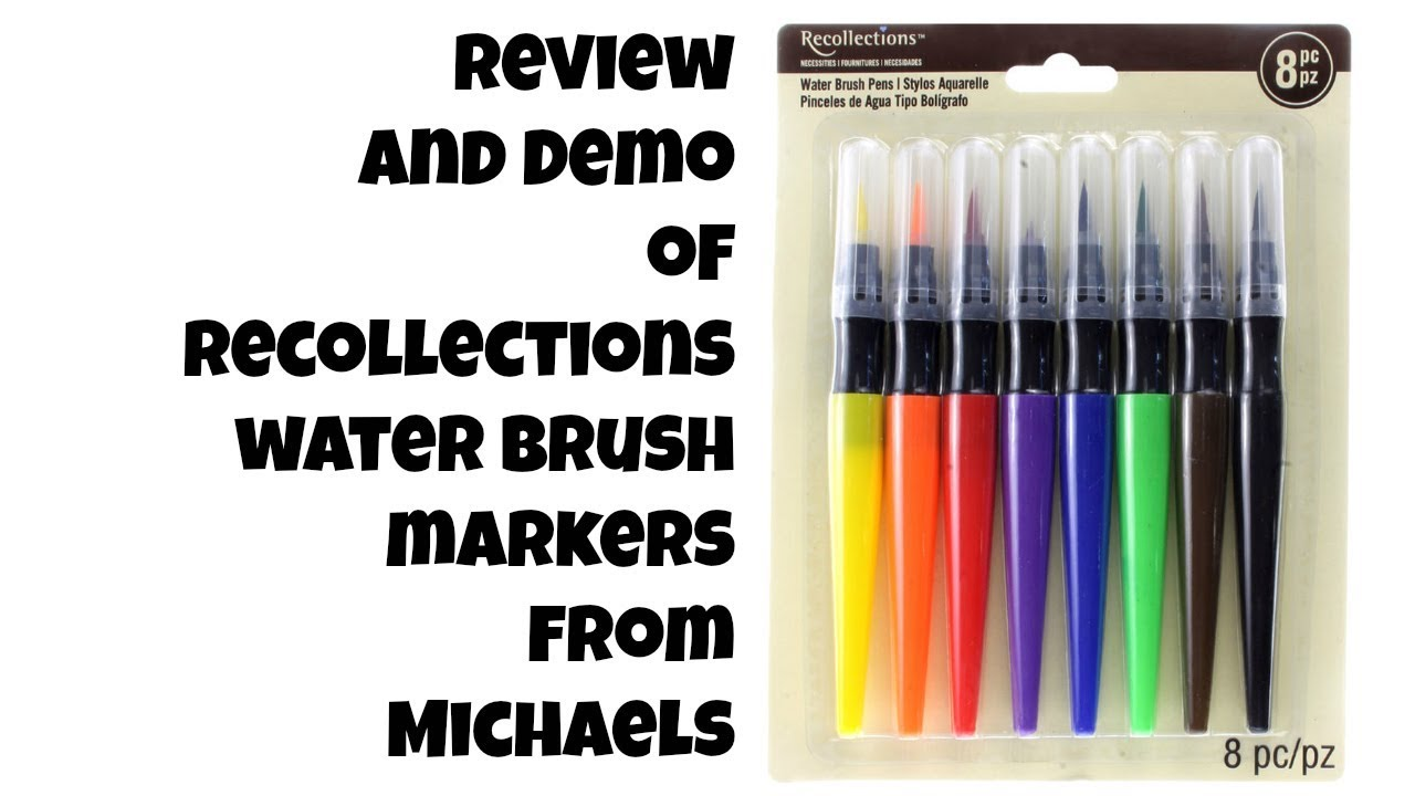 Watercolor markers michaels