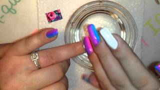 Nail art water decal and stamping