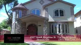2327 South Josephine, Denver, Colorado, Luxury Home for Sale