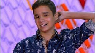 gabriel ciríaco canta cazuza o tempo não para e encanta jurados no the voice kids brasil 2018