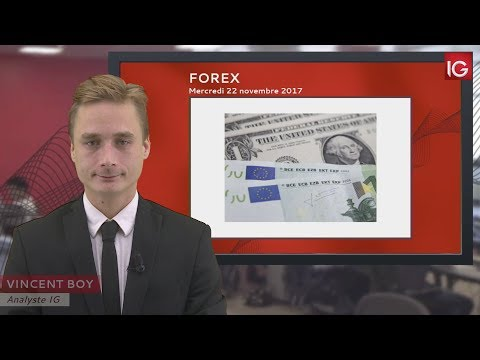 Bourse - EUR/USD, possible baisse dans l'attente du FOMC - IG 22.11.2017