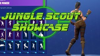 Fortnite JUNGLE SCOUT Showcase