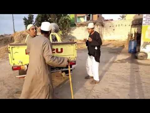لن تصدق ما فعلة الحاج مسعود في حسنين بسبب ما فعلة في الحمار / موت من الضحك 😂😂