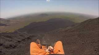 Best Volcano Boarding Video- Cerro Negro, Bigfoot Hostel (GoPro Video)